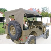 PLANDEKA WILLYS MB